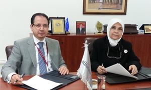 بنك البركة يرعى أيتام جمعية الندى التنموية لمدة عام ويطلق برنامجه للمسؤولية الاجتماعية في سورية