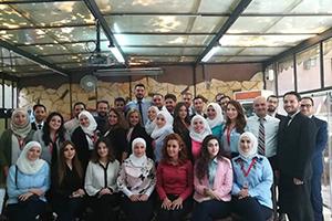 البركة سورية يكرم خريجي الدورة السابعة في العلوم المالية والمصرفية