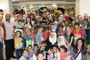 بنك البركة يشارك في يوم المرح لجمعية الندى ضمن أسبوع اليتيم العالمي
