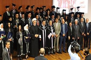 بنك البركة سورية يرعى حفل تخريج دفعتين من طلاب الماجستير في معهد العالي لإدارة الإعمال HIBA