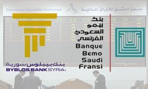 بنك بيبلوس سورية الأكثر تداولاً في بورصة دمشق خلال الأشهر الـ10 الأولى من 2014..و