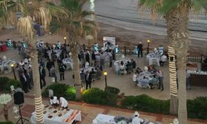 بنك بيمو السعودي الفرنسي يقيم مائدة إفطار رمضانية لعملائه