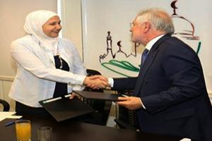 بنك بيمو السعودي الفرنسي يدعم عدة مشاريع مع مبادرة أهل الشام