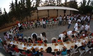 بيمو السعودي الفرنسي يرعى إفطارلأطفال جمعية قرى الأطفال