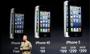 بالصور: آبل تطلق هاتفها الجديد