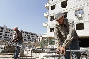 تقرير: ارتفاع أسعار مواد البناء في سورية بنسبة 1000%.. و100 ألف ليرة سعر إكساء المتر
