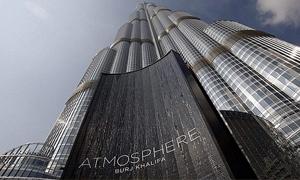 الطابق 117 في برج خليفة يعرض للبيع  في مزاد علني على الانترنت