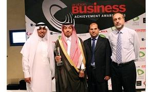 أريبيان بزنس تمنح العراب جائزة أفضل شركة مقاولات لعام 2012