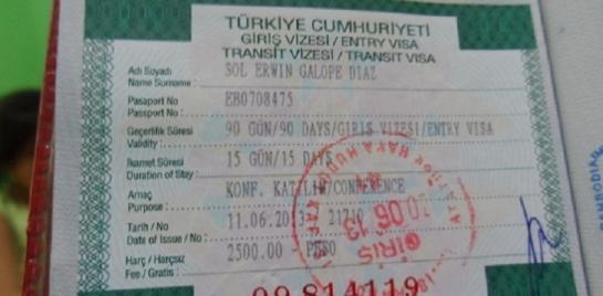 الخارجية التركية تعلن تطبيق نظام