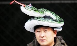 احتفالات صاخبة في الصين بعام الافعى الجديد