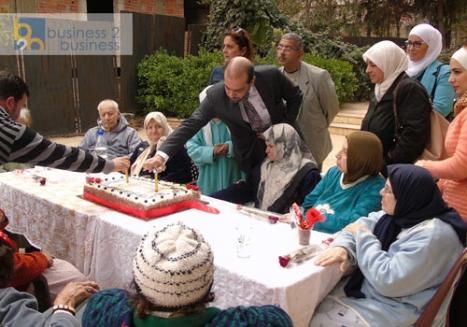 بالصور: بنك الشام يزور جمعية