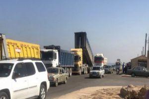 الأردن يرفع رسوم التراتزيت على الشاحنات السورية المحملة