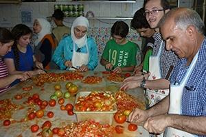 بنك الشام يدعم سكبة رمضان بـ20,000 وجبة غذائية حتى الآن