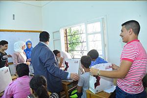 بنك الشام يطلق حملة العودة إلى المدارس في اللاذقية