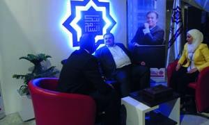 معرض موداتكس يفتتح أعماله في دمشق برعاية بنك الشام
