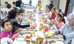 بنك الشام يشارك بحملة توزيع سلل غذائية رمضانية وإفطار صائم