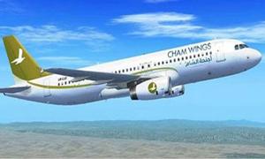 شركة أجنحة الشام للطيران تزيد عدد رحلاتها إلى القامشلي