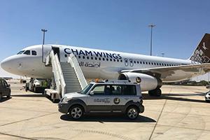 أجنحة الشام للطيران تسير أولى رحلاتها المنتظمة من دمشق الى الشارقة