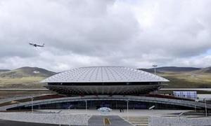 الصين تفتتح أعلى مطار مدني في العالم