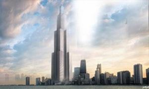 بدء تشييد أعلى برج في العالم بالصين بطول 838 متراً