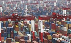 صادرات الصين تقفز 14.5 في المئة في سنة