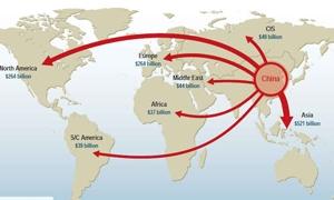 ارتفاع حجم الاستثمارات الخارجية الصينية الى  73 بليون دولار في 2011
