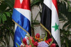 سورية تبحث إقامة استثمارات ومعامل مشتركة مع كوبا
