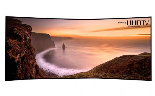 سامسونج الكترونيكس تكشف عن أكبر تلفزيون  UHDوالأكثر تقوساً في العالم بحجم 105 أنش