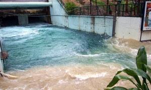 مياه دمشق وريفها مراقبة ومعقمة وعكرها ناتج عن الفوران الكبير لنبع عين الفيجة