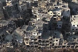 نحو 45 تريليون ليرة أضرار الممتلكات العامة والخاصة في سورية حتى نهاية العام 2017