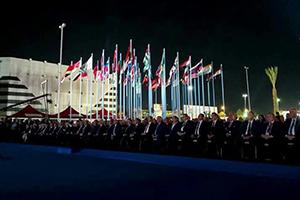 تحت شعار ''وعز الشرق أوله دمشق'' .. انطلاق الدورة الـ 60 من معرض دمشق الدولي بحضور رسمي و دولي