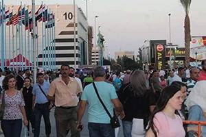 في اليوم الخامس لمعرض دمشق الدولي: 273 ألف زائر و توقيع عدد من الاتفاقيات و عقود التصدير