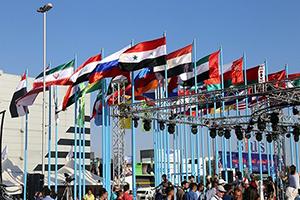 الخليل لوزير الصناعة اللبناني: الاقتصاد السوري أقلع و ارتفاع حجم المشاركين في معرض دمشق الدولي هو المؤشر