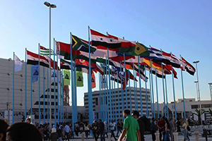 38 دولة عربية وأجنبية ترفع أعلامها في معرض دمشق الدولي بدورته الـ 61