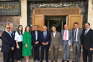 اتفاق تعاون بين اتحاد غرف التجارة السورية وغرفة تجارة وصناعة ابخازيا