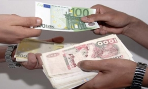 الدولار الامريكي يهبط لادنى مستوى له في 7 اشهر اما الدولار الكندي والجنيه الاسترليني