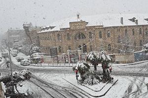 إليكم حالة الطرق العامة في سورية نتيجة الأحوال الجوية السائدة مساء اليوم