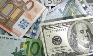 أسعار الدولار واليورو الساعة 1500 بتوقيت جرينتش