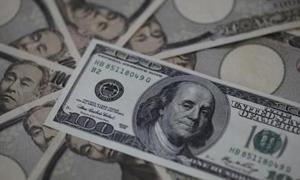 الدولار يقفز لأعلى مستوى في 7 أشهر امام الين