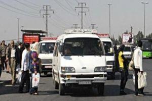 تموين ريف دمشق يطلق حملة لقمح مخالفات السرافيس والباصات