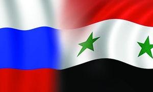وصول طائرة  مساعدات روسية الى  دمشق محملة بـ 24 طناً من  المستلزمات الطبية والأدوية