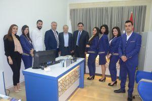 إفتتاح مكتب مبيعات لأجنحة الشام للطيران في فندق سفير حمص