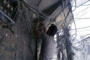 كهرباء ريف دمشق تضبط 194 تاجراً و33 صناعياً يسرقون الكهرباء!
