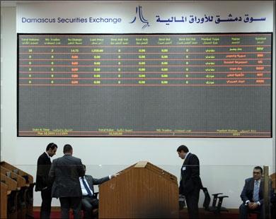 7 ملايين ليرة تعاملات بورصة دمشق الأسبوع الماضي.. والمؤشر عند 1250 نقطة