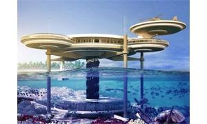 بالصور: دبي تكشف عن مشروع فندق تحت الماء