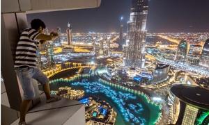 صور دبي كما لم تراها من قبل بعدسة شبان روس تسللوا خلسة لأعلى المباني