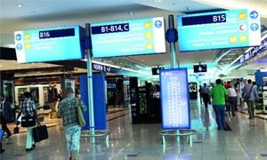 مطارات دبي تغير اسماء وأرقام بوابات الصعود للطائرات