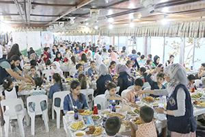 بنك سورية الدولي الإسلامي يقيم مأدبة رمضانية في حمص وحماة واللاذقية
