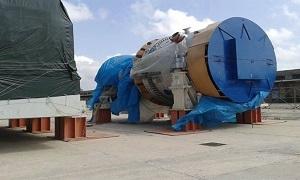 وصول معدات لزوم محطات توليد الكهرباء لمرفأ طرطوس