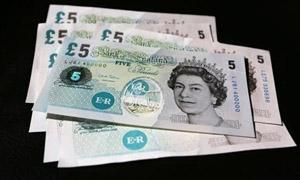 بنك انجلترا المركزي يقترب من التخلص من الجنيه الاسترليني الورقي واستخدام عملات نقدية من البلاستيك قريباً